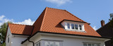 roof of house with red tiles - 170819461