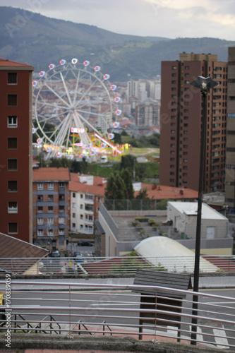 Fotobehang Amusementspark Parque de atracciones