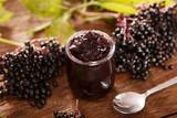 Elderberry fruit jam - 170854422