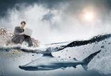 Concept crise et business et danger dans le monde des affaires - 170855633