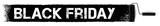 Black Friday Sale - Anstrich mit Farbroller Banner, Textur schwarz - 170873826