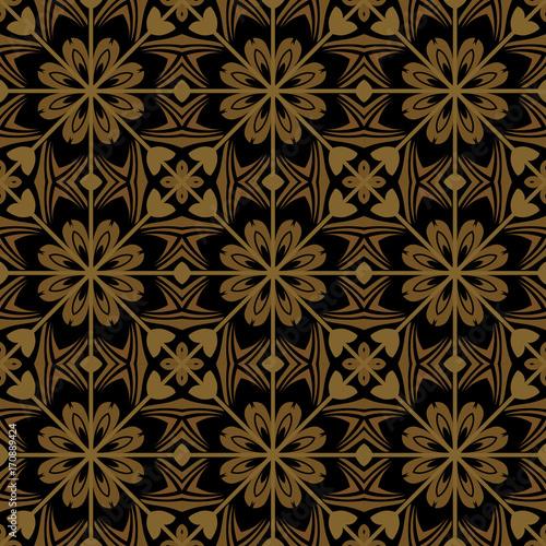 Seamless luxurious wallpaper - 170889424
