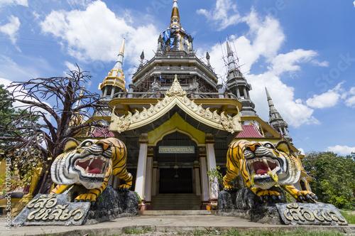 Fotobehang Tijger Tiger Cave Temple in Krabi province, Thailand