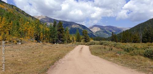 Foto op Aluminium Bergen Beautiful Alpine landscape in Rocky Mountains, Colorado