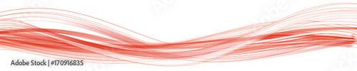 Welle Weiß Rot Band Banner Hintergrund Wellen