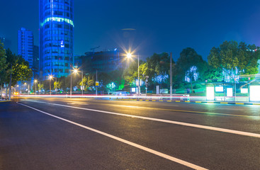 urban traffic in dalian,china.