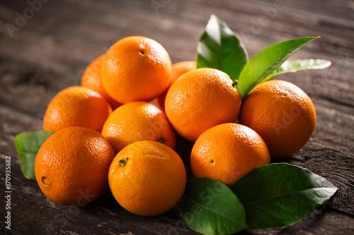 Fotobehang Sap ripe raw orange fruits background many orange fruits.