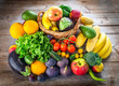 Fresh fruits and vegetables - 170938276