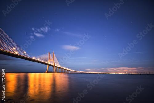 Fotobehang Bruggen bridge to the future
