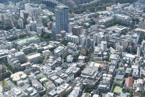 Fotobehang Tokio 東京風景 六本木 麻布 広尾