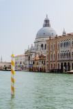 Santa Maria della Salute, canal view, Venice Italy