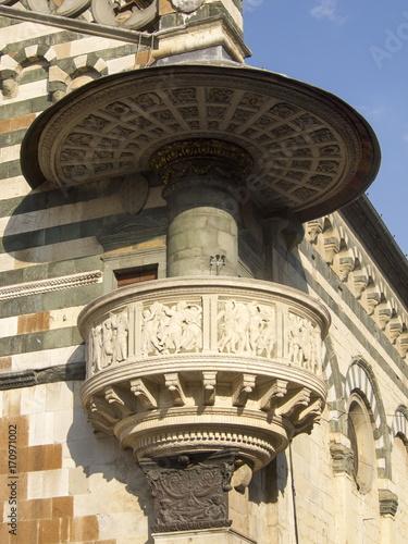 Italia,Toscana,Prato, il duomo, cattedrale di Santo Stefano Poster