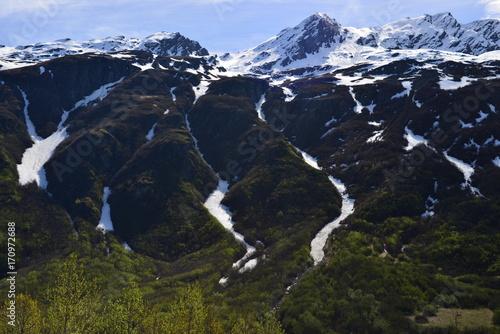 Papiers peints Noir Trip to Alaska, USA