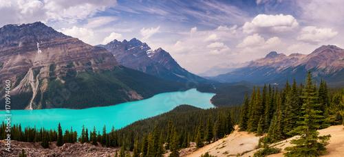 Fotobehang Canada Peyto Lake