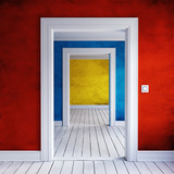 home doorway interior