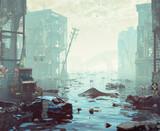 Apocalyptic landscape - 171006480