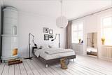 modern bedroom - 171006485