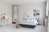 modern bedroom - 171006491
