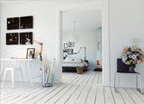 modern bedroom - 171006493