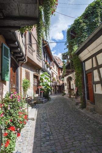 rue d'Eguisheim en Alsace