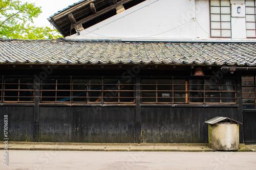 Fotobehang Oude verlaten gebouwen 山居倉庫