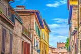 Colorful buildings in Siena - 171025057