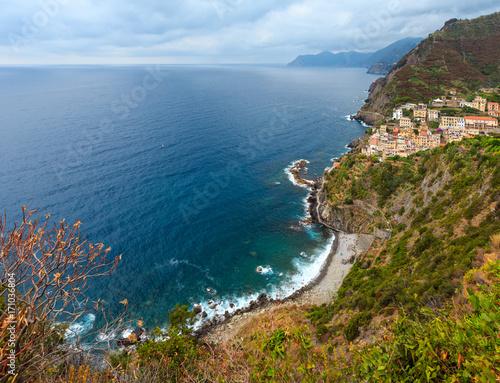 Summer Riomaggiore, Cinque Terre. Poster