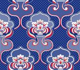 Seamless damask pattern background for wallpaper - 171042821