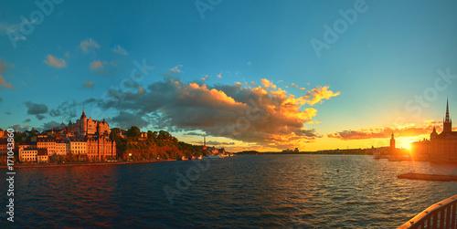 Aluminium Stockholm Stockholm On the Sunset