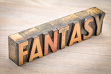 fantasy word abstract in wood dtype