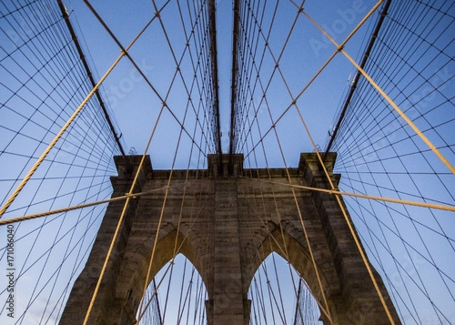 Papiers peints New York Brooklyn Bridge