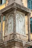 Old market column at the Piazza delle Erbe in Verona, Veneto, Italy - 171068809
