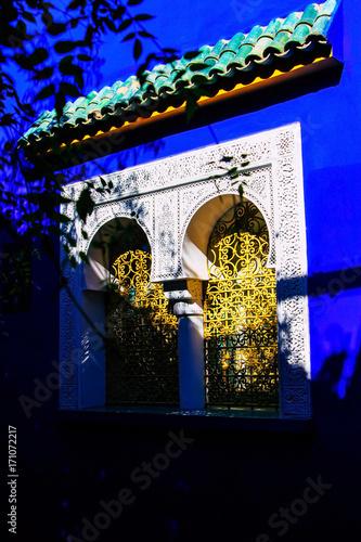 Fotobehang Marokko Jardin Majorelle - Marrakech - Maroc
