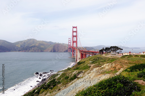 Fotobehang San Francisco San Francisco's Golden Gate Bridge