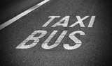 taxi and bus lane - 171098820