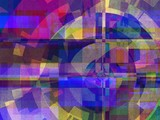 Abstract Style Graphic Design Art Background   - Fractal Art