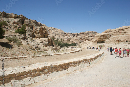 Papiers peints Beige Petra, Jordan