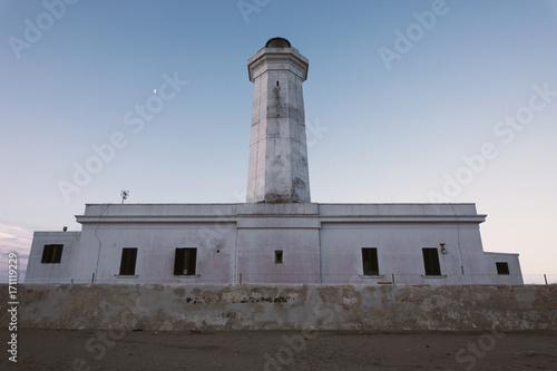 Aluminium Vuurtoren Faro di San Cataldo - Lecce - Salento