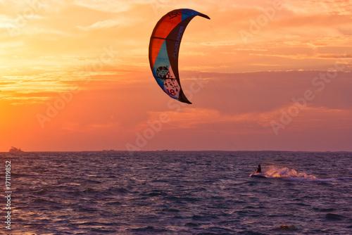 Fotobehang Dubai Surfing in Dubai