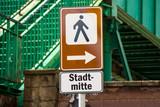 Schild 224 - Stadtmitte