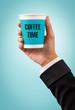 coffee break concept.
