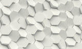 hexagon geometric background - 171149811