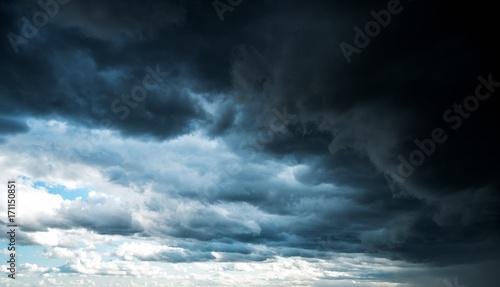 Fototapeta Hurricane sky storm weather