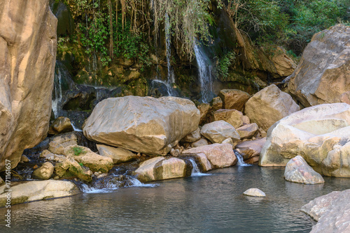 El Vergel waterfall, Torotoro Canyon, Potosi, Bolivia
