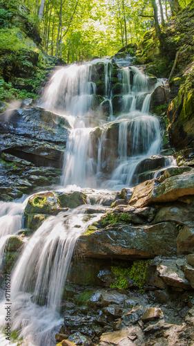 Waterfall Shipot. Ukraine. Zakarpattia.  © Iryna Nazarova