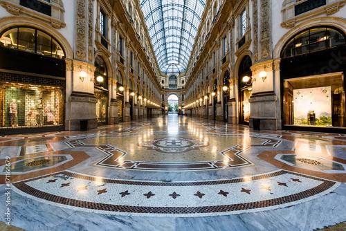 Foto op Canvas Milan Milano Galleria Vittorio Emanuele