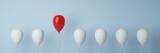 Ballon Konzept zu Führung und Freiheit
