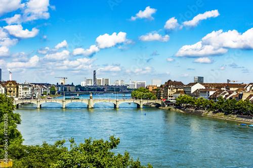 mata magnetyczna Basel am Rhein in Switzerland