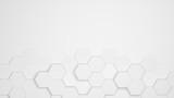 Hexagon Waben Muster als Hintergrund - 171180472