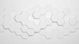 Hexagon Hintergrund mit Waben Muster - 171180484